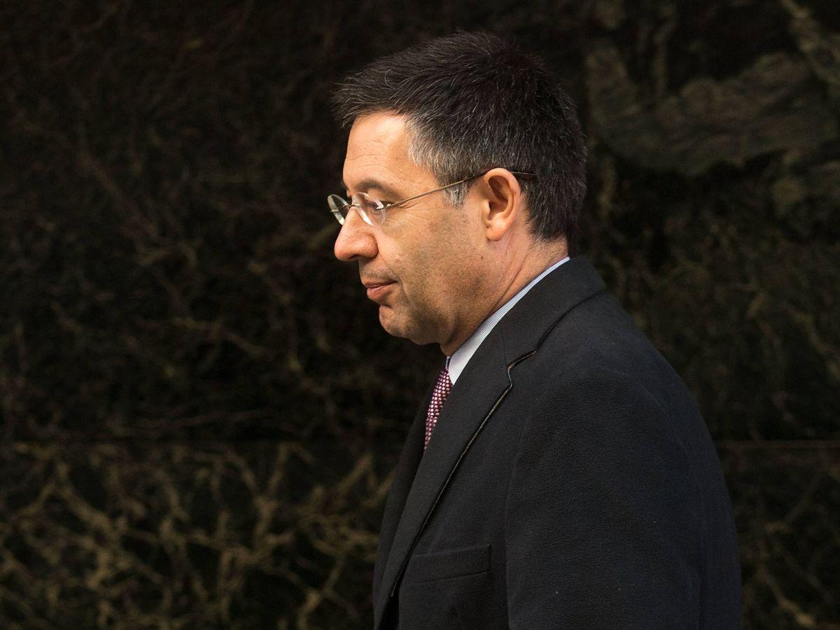 Foto:  Josep Maria Bartomeu, en una imagen de archivo. (Getty)