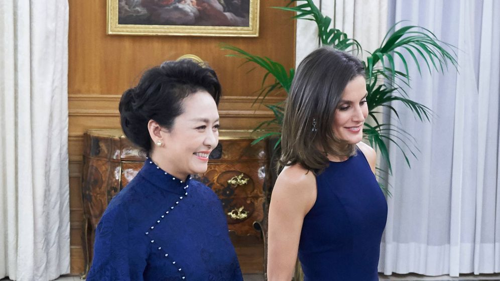 Foto: La Reina y Peng Liyuan. (Limited Pictures)