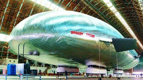 El dirigible secreto que el fundador de Google construye en un hangar de la NASA