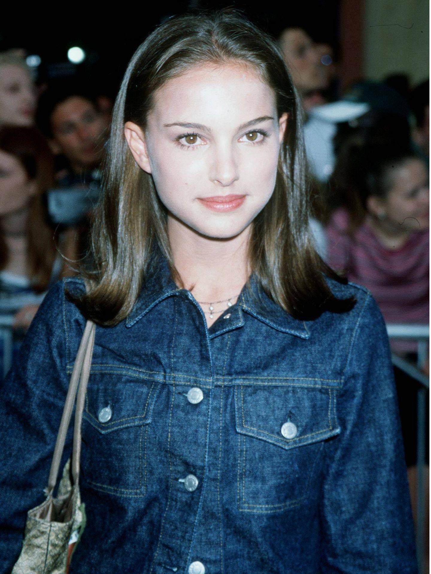 La actriz, en el estreno de 'El profesional (Léon)'. (Getty)