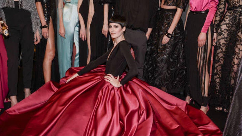 Uno de los diseños principescos de Ze García. (080 Fashion Barcelona)