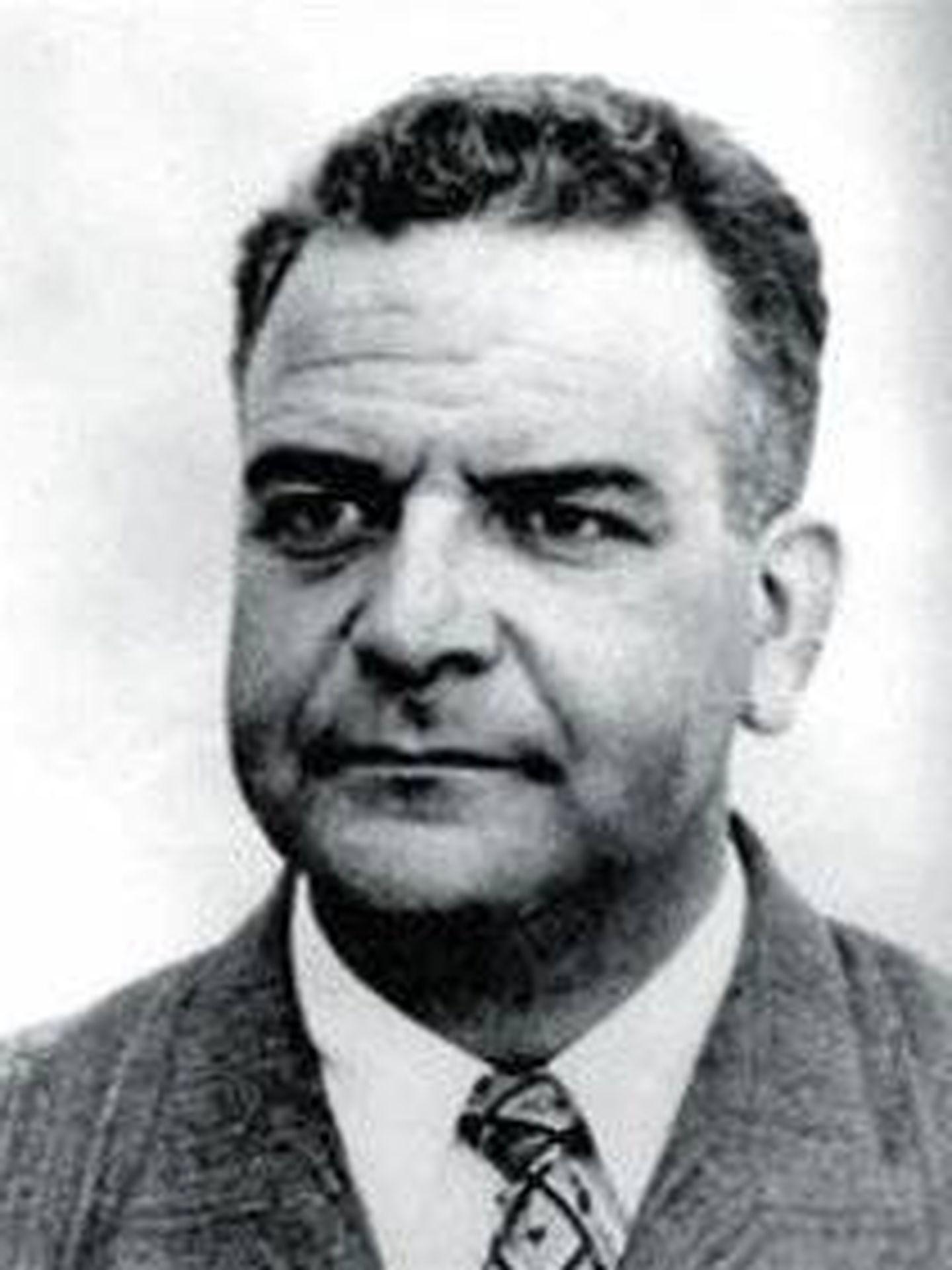 Ramón Mercader, en un retrato fotográfico de la época. (Wikipedia)