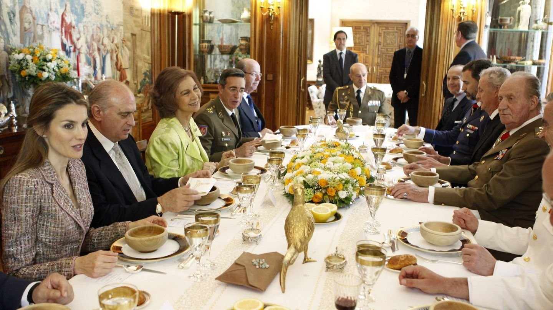 Almuerzo en Zarzuela. (EFE)