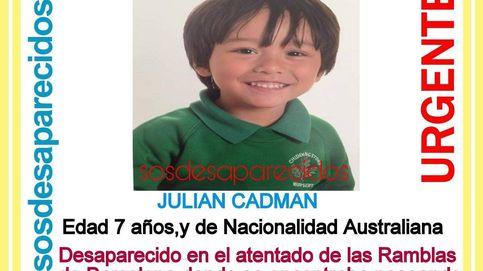 Julian Camdan, el niño australiano de 7 años desaparecido tras el atentado