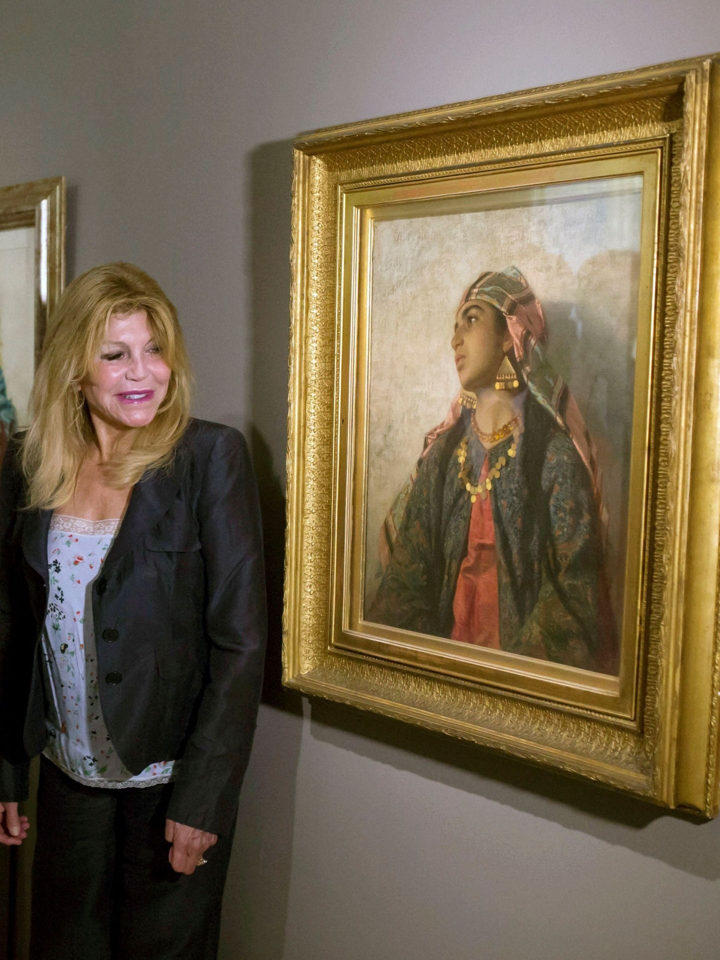 Carmen Thyssen, en su museo de Málaga. (EFE)