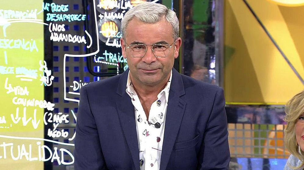 Foto: Jorge Javier Vázquez en 'Sálvame'. (Mediaset España)