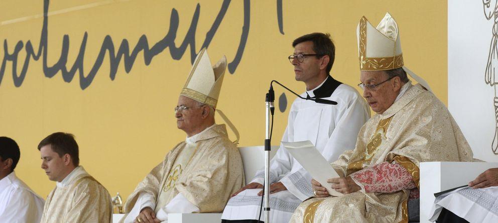 Foto: Misa del prelado del Opus Dei, Javier Echevarría. Foto: Efe