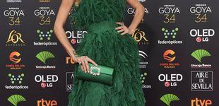 Post de Nieves Álvarez luce en los Goya el peinado más elegante para una invitada de boda