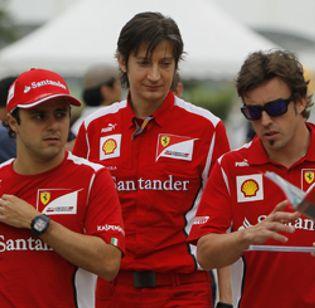 """Foto: Ferrari no aspira a la 'pole', sólo a """"entrar en la Q3"""""""