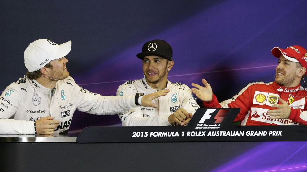 Vettel a Rosberg: Sé honesto, ¿De verdad esperas ir más despacio?