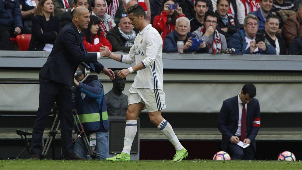 El triunfo de Zidane: quitar a Cristiano y que no le ponga 'caritas'