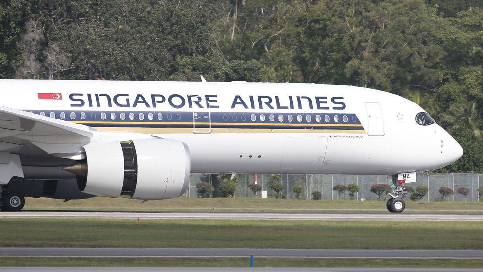 Foto: Uno de los aviones destinados a hacer la ruta. (EFE)