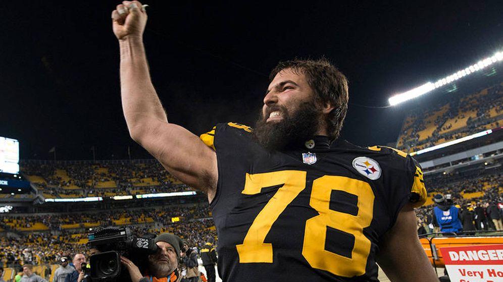 Foto: Alejandro Villanueva. (Steelers)