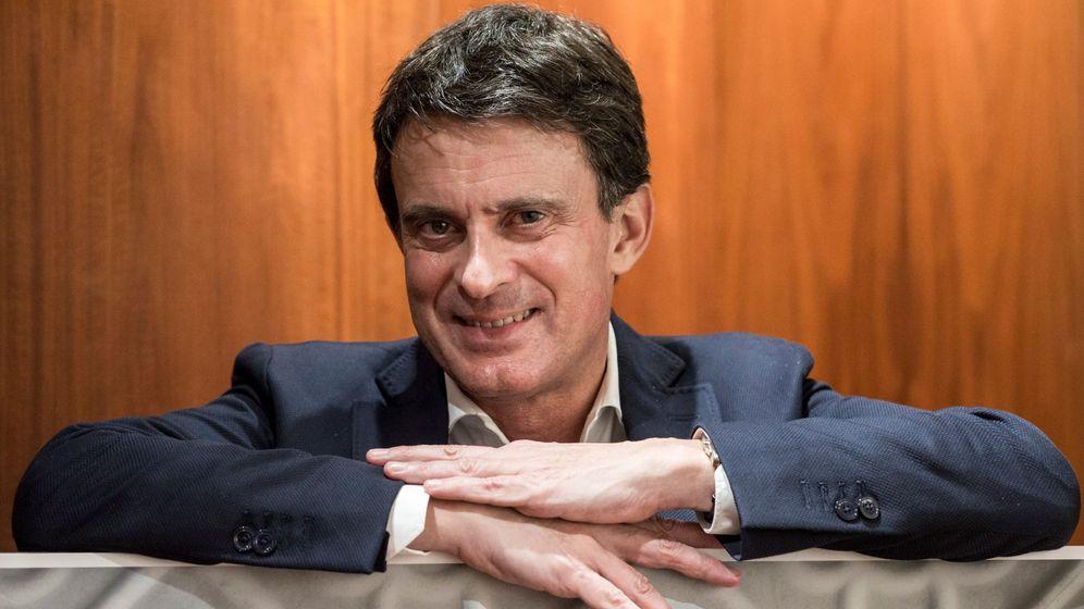 Foto: El aspirante a la alcaldía de Barcelona, Manuel Valls. (EFE)