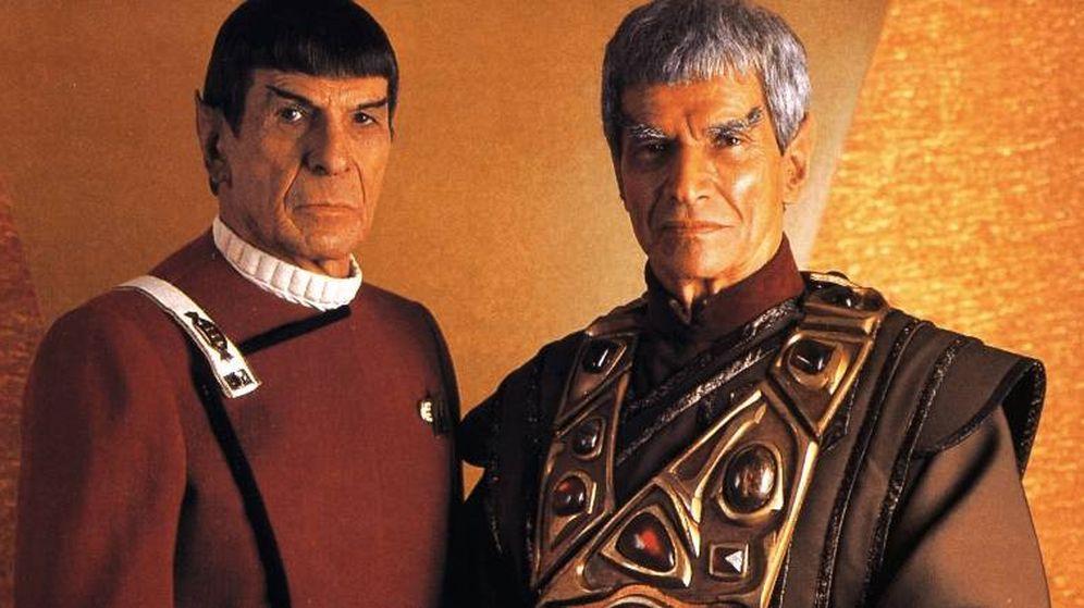 Foto: El actor Ben Cross (i) en 'Star Trek'.