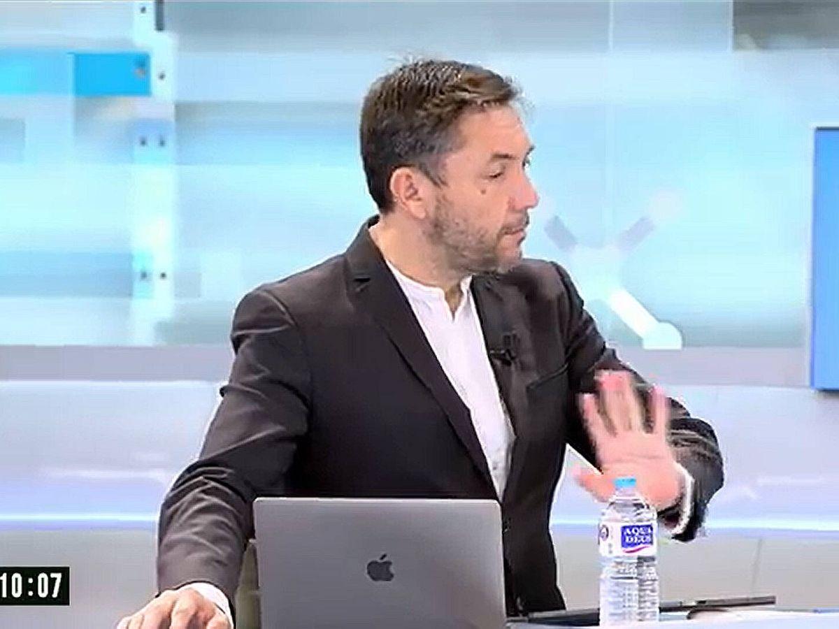 Foto: Javier Ruiz, en 'El programa del verano'. (Telecinco)