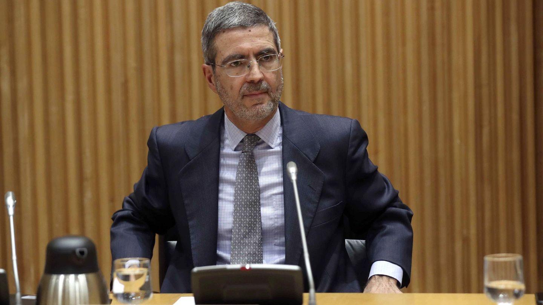 Fernando Jiménez Latorre, en la Comisión de investigación de la crisis financiera y el rescate. (EFE)