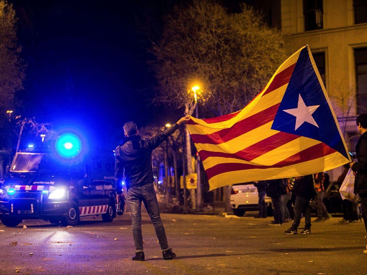 Foto: Fotografía de archivo de una manifestación independentista. (EFE)