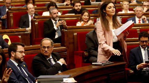 Roldán critica la defensa que Torra hizo de los CDR y la falta de políticas sociales