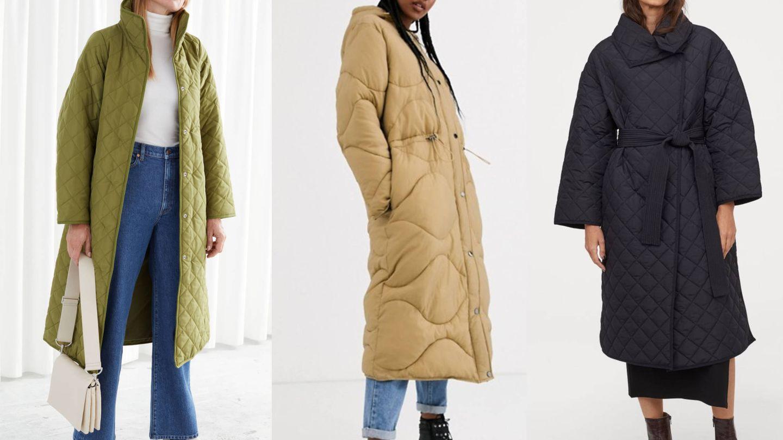 Tres abrigos guateados. (Cortesía)