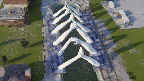 Lorenzo Quinn pone los puentes a la Bienal de Venecia