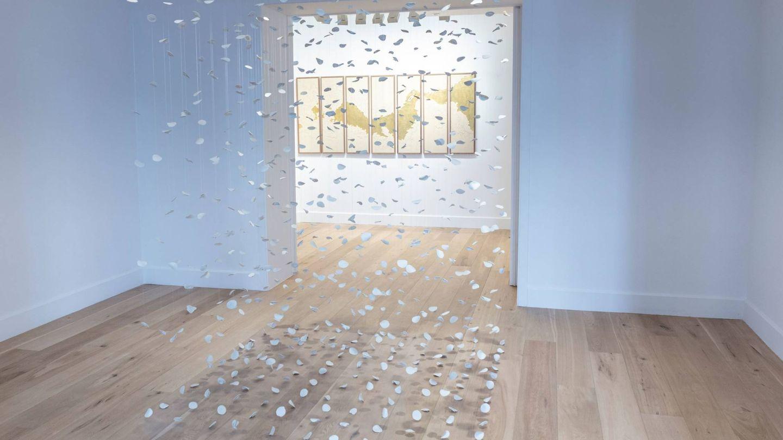 'Habitando el proceso', de Mercedes Lara, en la galería Lucía Mendoza. (Cortesía)