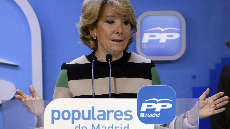 Foto: La candidata del PP a la Alcaldía de Madrid, Esperanza Aguirre (EFE)