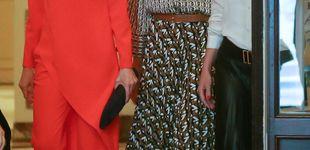 Post de Letizia y Juliana Awada prueban su buena sintonía: ambas de Zara para su tercera cita