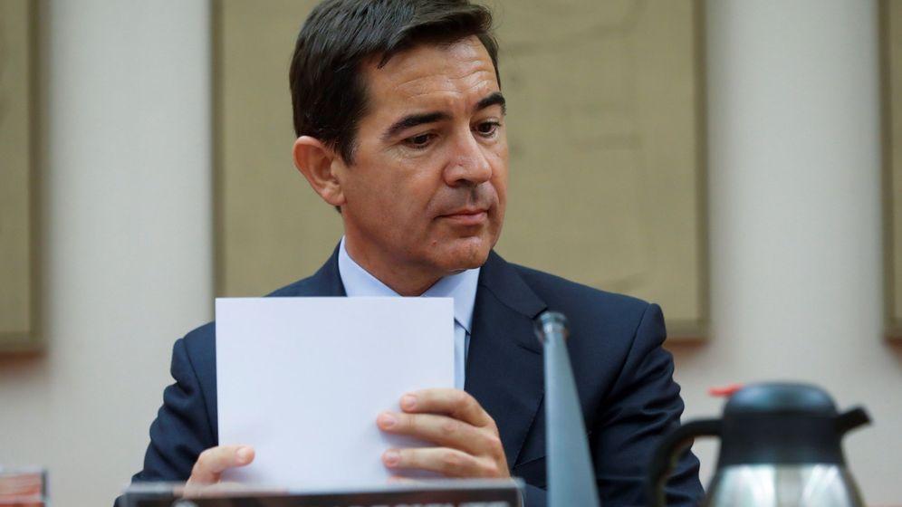 Foto: Carlos Torres, presidente de BBVA, en 2018. (EFE)