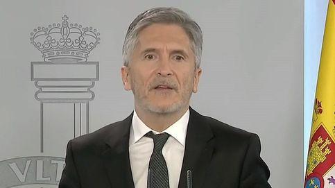 Marlaska defiende a Iglesias frente al Poder Judicial y le recomienda ponerse mascarilla