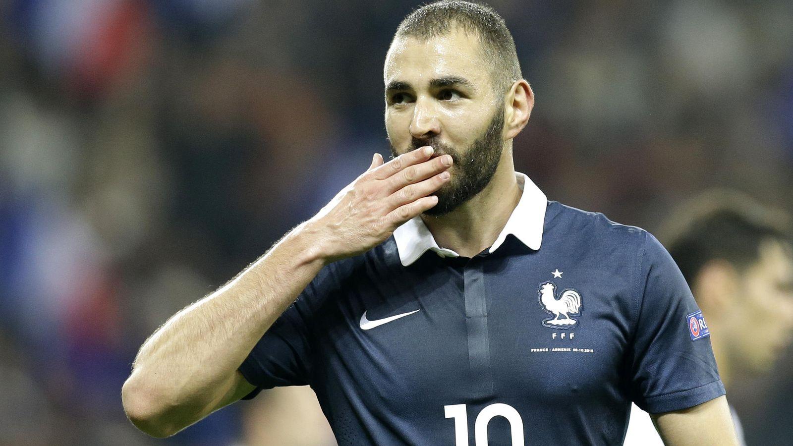 Foto: Karim Benzema, en un partido con la selección francesa (Gtres)