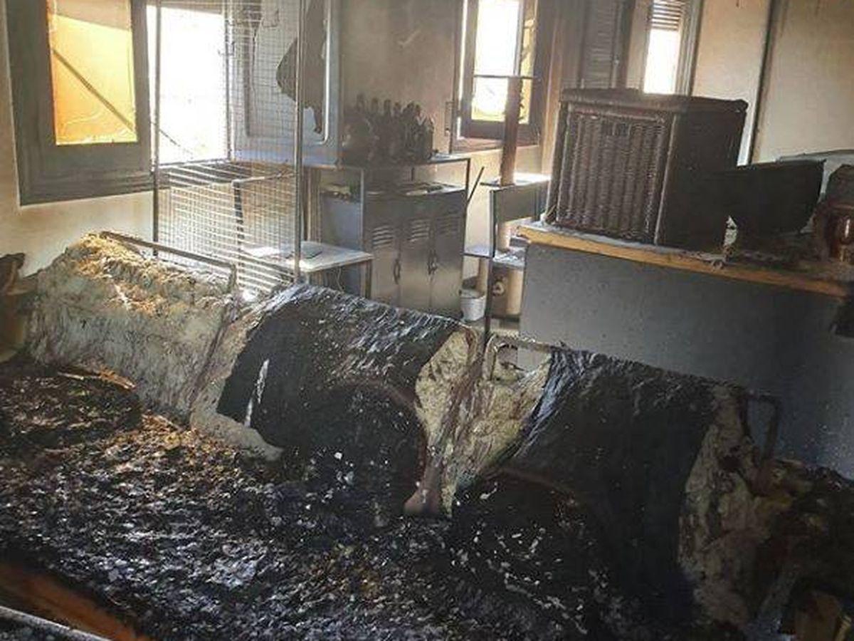 Foto: Incendio en la vivienda del 'youtuber' Fortfast