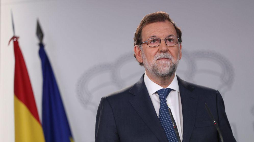 Foto: El presidente del Gobierno, Mariano Rajoy, el pasado 7 de septiembre en La Moncloa. (Reuters)