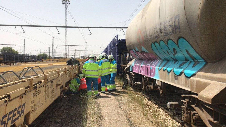 Foto: Foto del accidente (Foto: Emergencias Madrid)