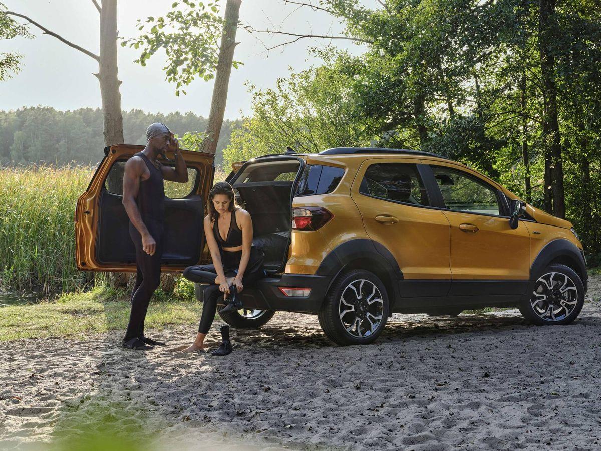 Foto: Ford EcoSport Active, un todocamino accesible para los más aventureros.