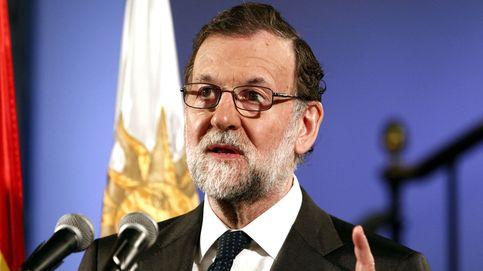 Rajoy en la embajada de España de Uruguay