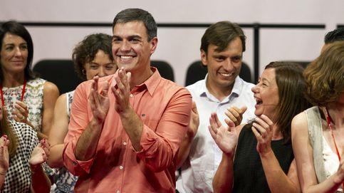 Sánchez vuelve a la escena política con mejor valoración que Rajoy, Iglesias y Rivera