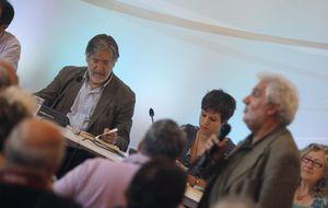 Tapias 'resucita' de la mano de Talegón y pide al PSOE no cerrar la puerta a Podemos