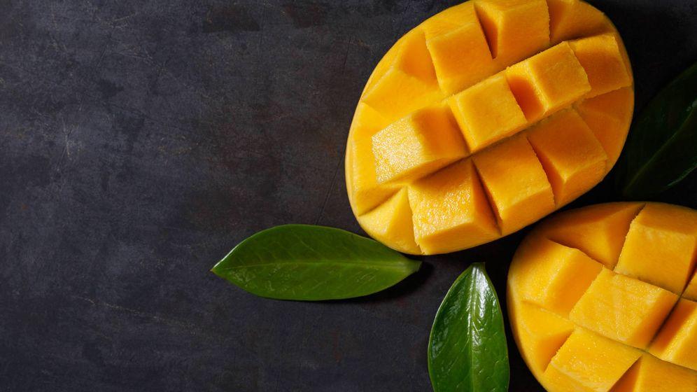 Foto: Mango cortado de forma muy especial. (iStock)