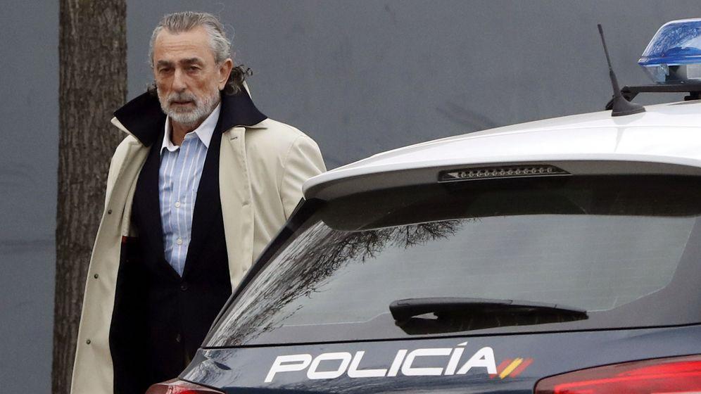 Foto: El empresario Francisco Correa declara en la Audiencia Nacional. (EFE)