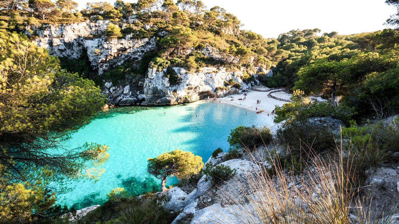 Foto: Cala Macarella, en Menorca.
