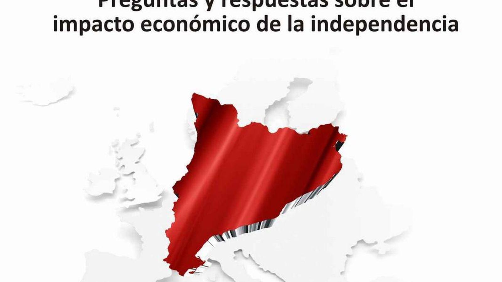 Foto: Fragmento del libro 'Economía de Cataluña: Preguntas y respuestas sobre el impacto económico de la Independencia'.