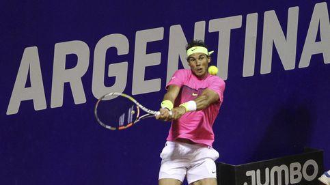 Nadal da su mejor nivel en Buenos Aires para meterse en la semifinal