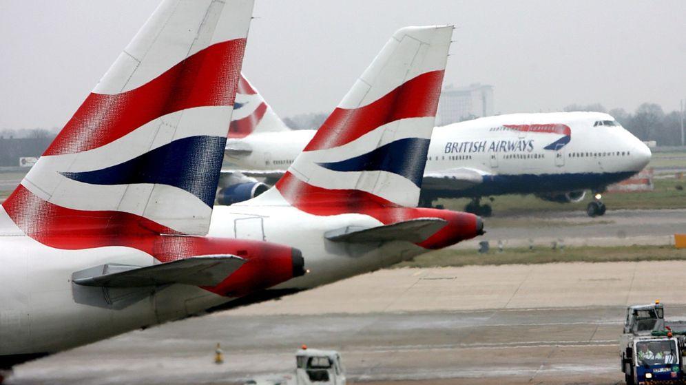 Foto: Aviones de British Airways, parte de IAG