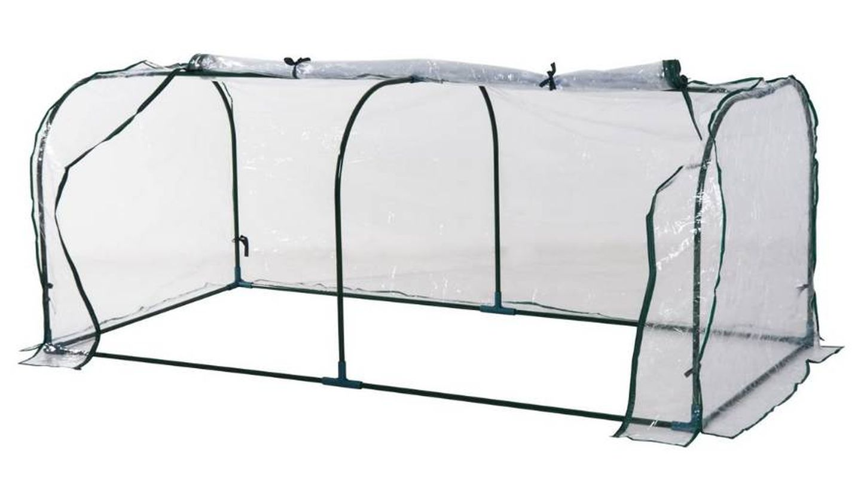 Invernadero tipo caseta ideal para proteger cultivos y plantas del frío Outsunny