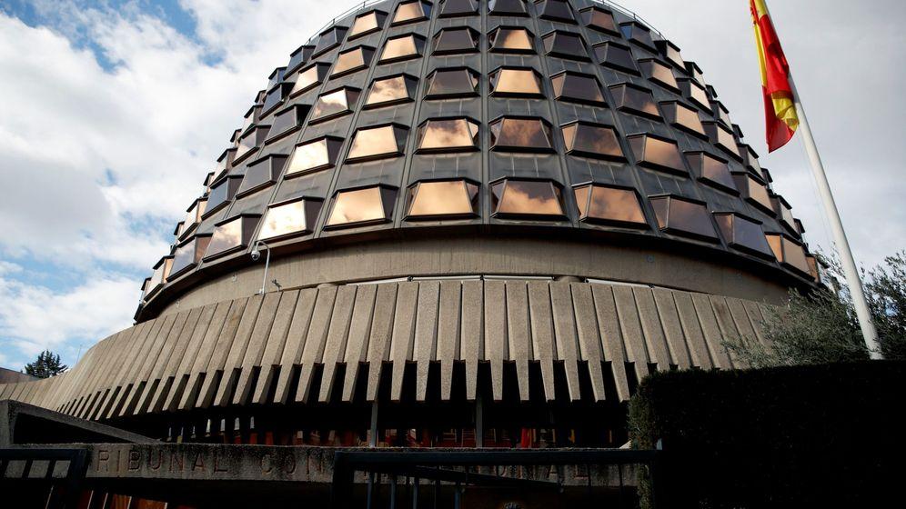 Foto: Imagen de la sede del Tribunal Constitucional (TC). (EFE)