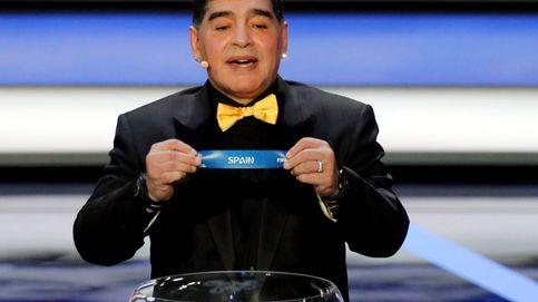 Policía, desfase y arengas: las últimas 72 horas de Maradona en Madrid
