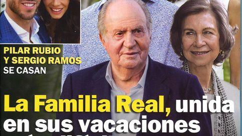 Las difíciles vacaciones de la familia real y la boda sorpresa de Ramos y Pilar Rubio