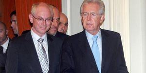 Monti y Van Rompuy proponen una cumbre contra el antieuropeísmo