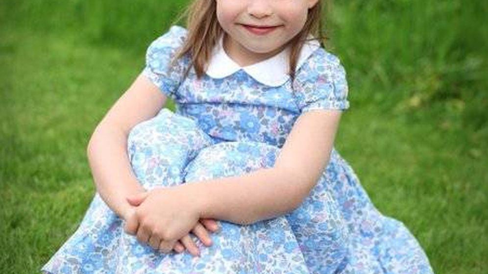 Foto: Fotografía realizada por Kate Middleton para el cuarto cumpleaños cumpleaños de Charlotte. (Kensington Palace)